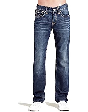 Men's Straight Leg Relaxed Fit Super T Stitch w/ Flap Jeans in Cool Mode