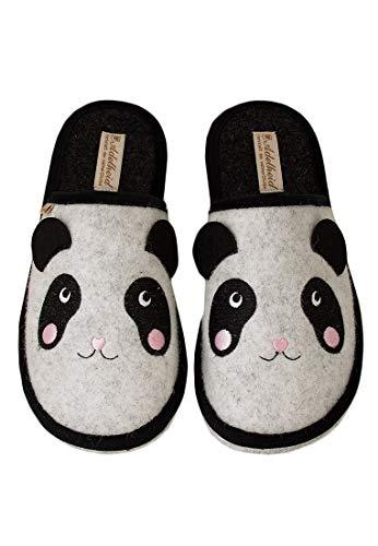 Adelheid Panda Filzpantoffel