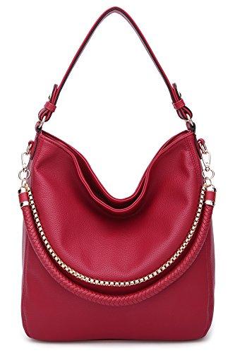 Cross Scarlett Shoulder K Women's New 1 Red Mia Designer IN Collection body Bag Farrow Handbags by MKF 2 Rx4Pqzx5