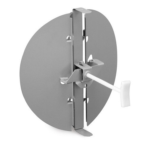 3800 Series 10inch Steel Butterfly Damper with Ring (Golden Sand)