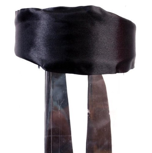 Caravan Sash Hanging From Headband To Wrap Or Leave Loose In Solid Colors