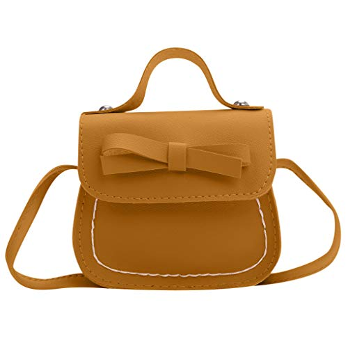 Children Princess Backpack for Elementary School Girls,Londony✡ Tote Handbags Shoulder Bags Hobo Bags Satchel Purses Yellow (Buckle Cut Belt Diamond Flag)