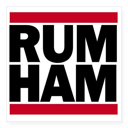 CafePress - Rum Ham DMC_Light Square Sticker 3