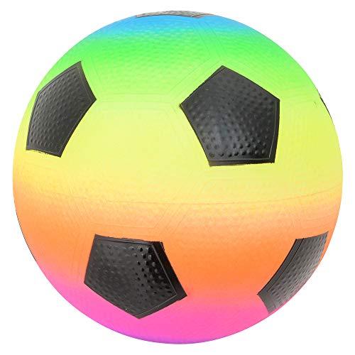 Rhode Island Novelty 9 Inch Rainbow Soccer