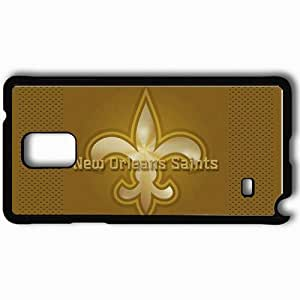Personalized Samsung Note 4 Cell phone Case/Cover Skin 1184 new orleans saints Black