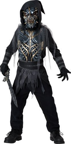 Costume Warrior Death (Death Warrior Child Costume -)