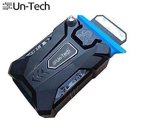 Amazon com: UnTech Cool Cold Portable Laptop USB Cooling Fan