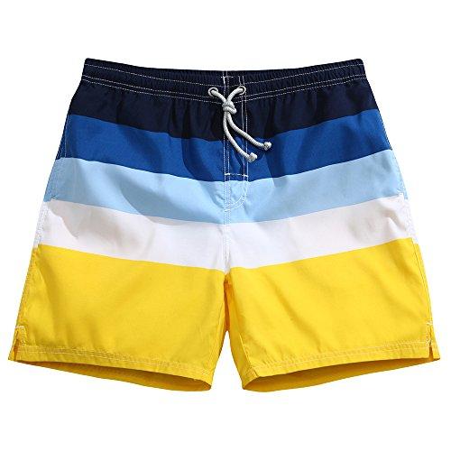 (Men's Swim Trunks Quick Dry Board Shorts Bathing Suits Sands & Sea)