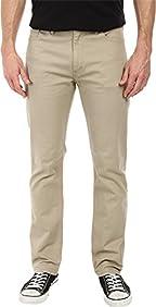 Levi's Mens Men's 513¿ Slim Straight Fit True Chino/Bull Denim Jeans