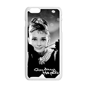 Happy Audrey Hepburn Cell Phone Case for Iphone 6 Plus