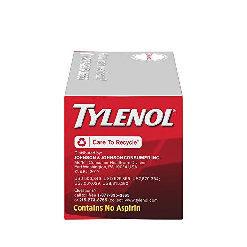 Tylenol Extra Strength Rapid Release Gels with Acetaminophen, Pain Reliever & Fever Reducer, 150 ct (150 Count)…