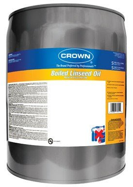 Crown Boiled Linseed Oil Alkyd 5 Gl by Crown