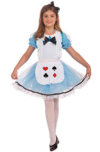 Alice In Wonderland Children's Costumes (Forum Novelties Alice Costume, Medium)