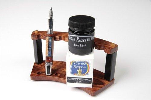 (Fountain Pen Ink Bottle - Ultra Black - Fast Dry)