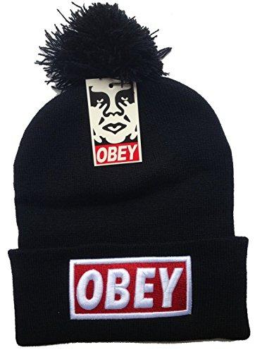 CUFFIA CAPPELLO OBEY INVERNALE INVERNO Berretto BEANIE 2014 UNISEX Cap Hat  swag hip hop NY New 3834c6622659