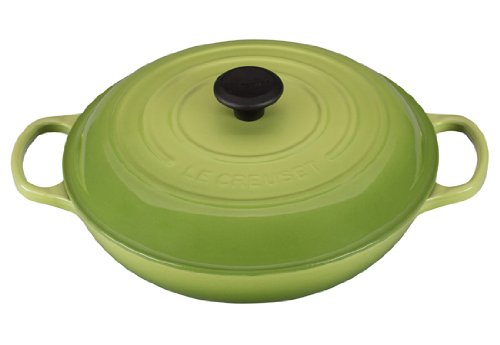Le Creuset Signature 5 Quart Enameled Cast Iron Braiser, Siz