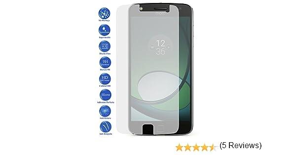 Todotumovil Protector de Pantalla Motorola Moto Z Play de Cristal Templado Vidrio 9H para movil: Amazon.es: Electrónica