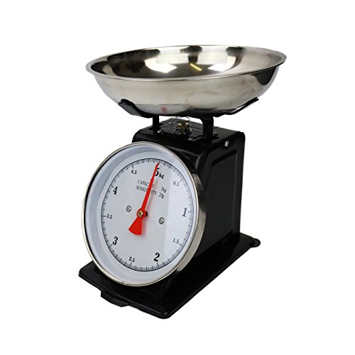 Oypla 5kg Traditional Mechanical Kitchen Weighing Scales Retro Vintage