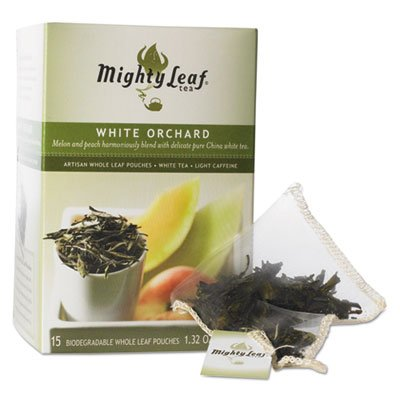 Mighty Leaf, Tea White Orchard, 15 Count