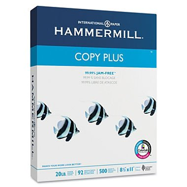 Hammermill Copy Paper, Bright White