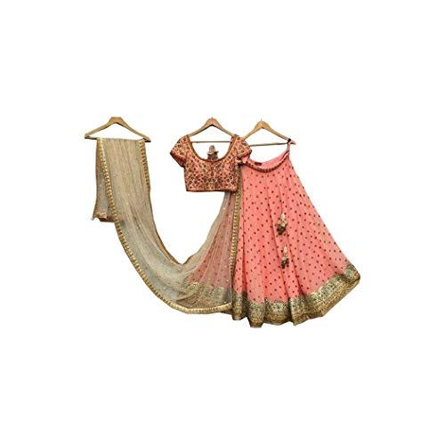 Donna Per Amit Choli Semi Fashions Designer Lehenga Indiano Esclusivo Cucito n7qzHO