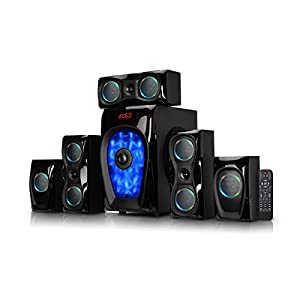 Artis MS 8877 5.1 Ch Wireless Multimedia Speaker System with Fm/sd/aux/USB Bluetooth Home Audio Speaker