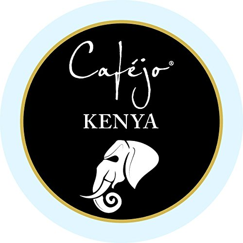 Cafejo K-Cups, Kenya Coffee, 24 Count