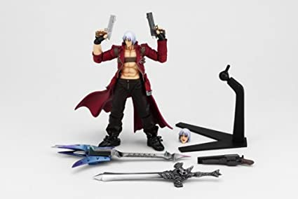 Devil May Cry III Revoltech #003 Super Poseable Action Figure Dante