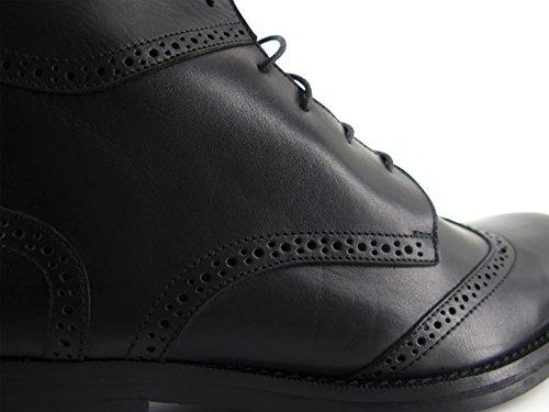J.BRADFORD Chaussures Boots JB-Victor Noir Noir BOqflY