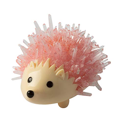 Fat Brain Toys Crystal Growing Hedgehog - Pink Maker & DIY Kits for Ages 10 to 12