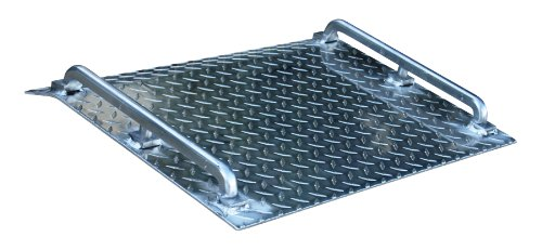 Vestil AMD-2418 Mini Dock Plate, Aluminum, 500-lb. Capacity, 18
