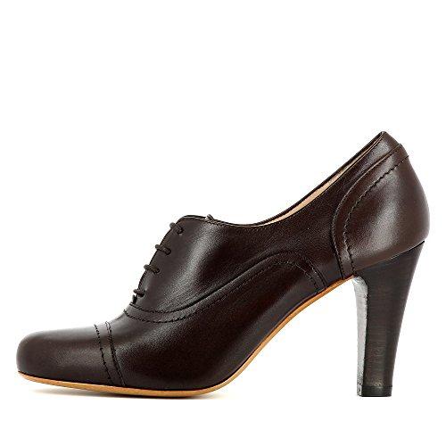 Evita Shoes Maria - Zapatos de vestir de Piel para mujer marrón oscuro