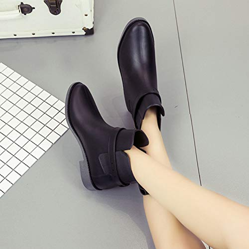 Impermeabile nero Pastaza Gomma Di Rain Boot Stivali Per Fibbia Chelsea Scarpe Donna Stivaletti Uomo x00wOr