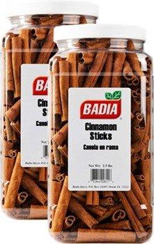 Badia Cinnamon Sticks 2.5 lbs Pack of 2