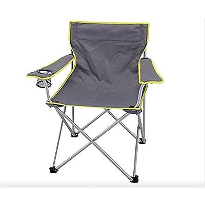 Adulte Gris Chaise de camping pliante