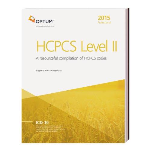 2015 hcpcs level ii professional - 2