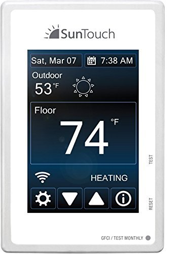 SUNTOUCH Programmable Wi-Fi SunStat Connect Thermostat by SunTouch