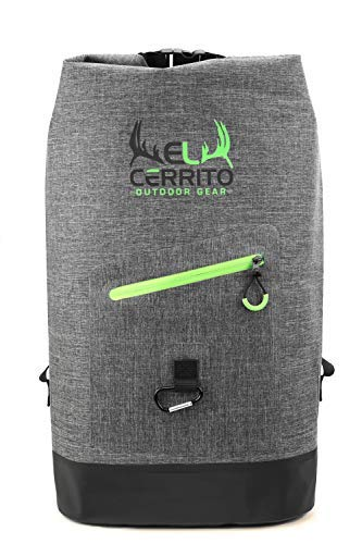 El Cerrito Premium Waterproof Dry Bag Backpack   Heavy Duty with Padded Shoulder Straps   for Rafting, Boating, Swimming, Hiking, Beach, Fishing, and More
