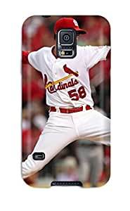 8479040K462864584 st_ louis cardinals MLB Sports & Colleges best Samsung Galaxy S5 cases