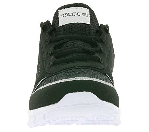 White Low Sneakers Unisex Top 242011 Black 1110 Adults Kappa Bw6AxO1