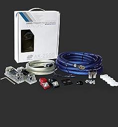 XS Power AK2500 XS FLEX 2 AWG 2500W - 3000W Install Kit (with (2) 250A Fuses & Holders)