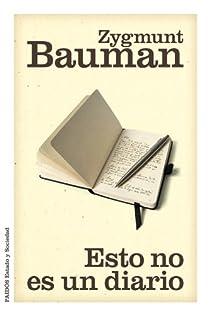 Esto no es un diario par Bauman