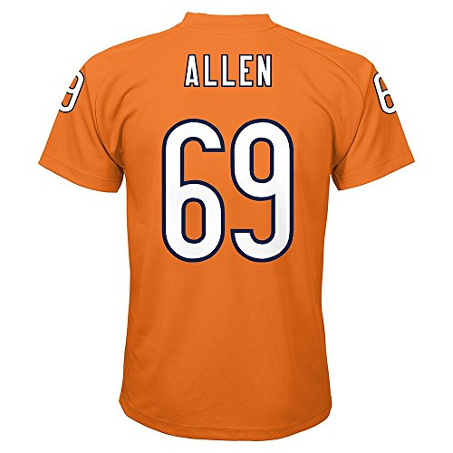 (Outerstuff Jared Allen NFL Chicago Bears Player Name & Number Replica Jersey Youth (S-XL))