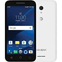 "Alcatel Cameox, OT-5044, 5.0"", 16GB ROM, 2GB RAM, White Colour, Unlocked, Android 7.0, 4G LTE, Non-Retail Packaging"