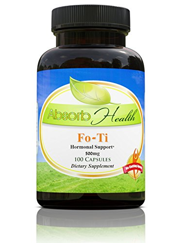 Fo-Ti (Ho Shou Wu) | 500mg 100 Capsules | Powerful 5:1 Extract | Anti-Aging Sexual Health Supplement Review