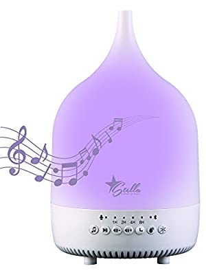 Stella Oil Diffuser Sound Relaxing Soothing Aromatherapy Night Light with Bluetooth