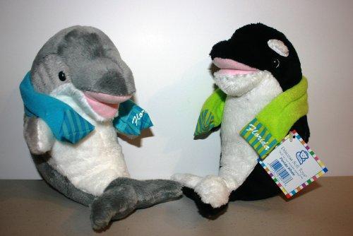 (Melissa & Doug Princess Soft Toys Dolphin & Whale)