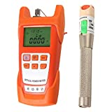 SM SunniMix AUA-9C -70dBm~+10dBm 850~1625nm Optical Power Meter Tester FC SC Handheld Optical Power Meter + with 30mW Visual Fault Locator Pen