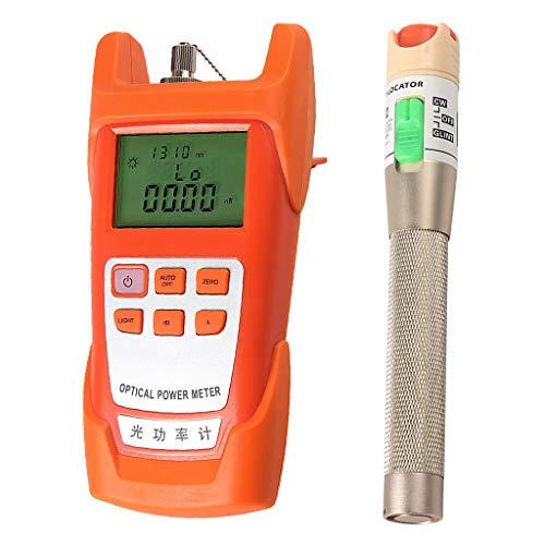 SM SunniMix AUA-9C -70dBm~+10dBm 850~1625nm Optical Power Meter Tester FC SC Handheld Optical Power Meter + with 30mW Visual Fault Locator Pen by SM SunniMix (Image #10)