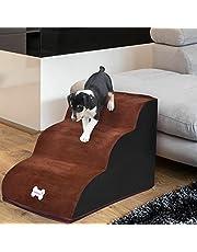 Hondentrapplank Voor Honden, Trap Voor Huisdieren, 3 Niveaus Trainingsspeelstappen, Hondentrap, Sponsladder, Kleine Hond Kat Klimbank Of Bed